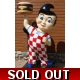 8ft. Tall 3D Life Size Big Boy Hamburger Icon Statue